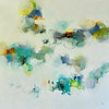"Traveling On-Ridgers, 48""X48"" acrylic painting on canvas"