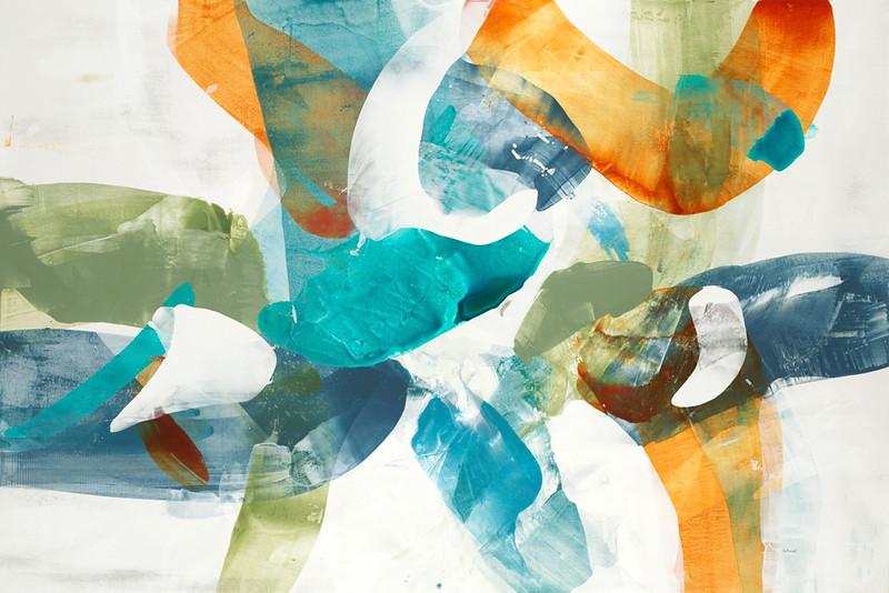 """Spirit Flow I-Alridge, 40""""X60"""" on canvas"""