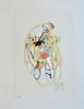 "Deco Series XIV-Mackey, painting on 22""x30"" paper"