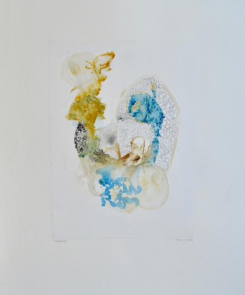 "Century-Mackey, painting on 22""x30"" paper"