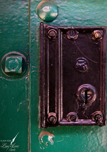 Green Door Lock