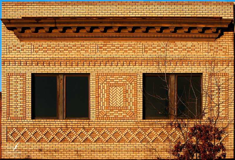 Art Deco Brickwork