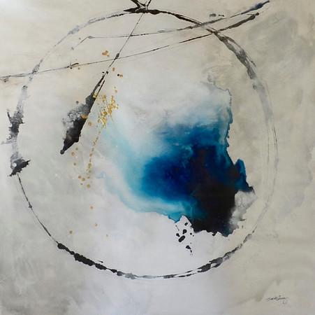 Amnesia-Carney, 50x50 on canvas