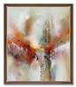 "Panaramic Flux-Douglas, 66 5"" x 56 5"" x 3"" painting on canvas framed"