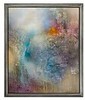 "Absorption Line-Hawkes, 66 25"" x 56 25"" x 2 5"" painting on canvas framed"