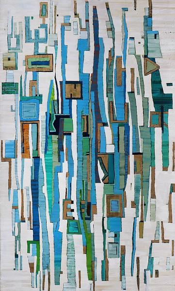 Del-Mar-10-Langford, 36x60 stretched canvas