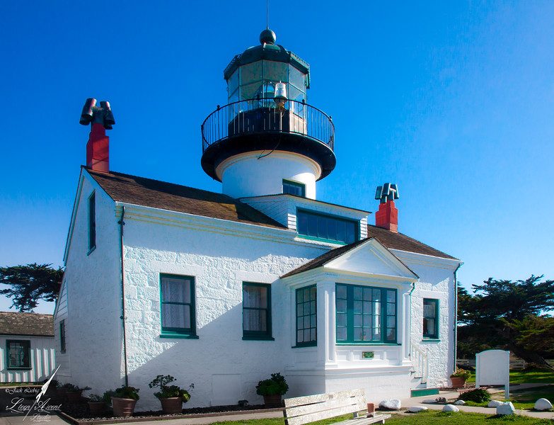 Point Pinos Lighthouse Entrance