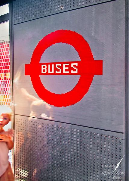 London's Hanley's Lego Bus Stop