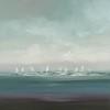 Sail Time-Ridgers, 40x40 canavs