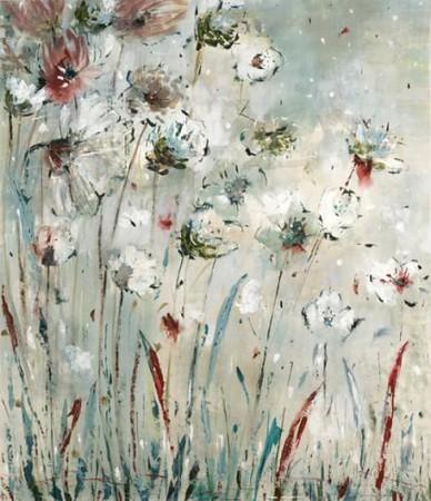 Night Flowers-Martin, 38x44 canvas