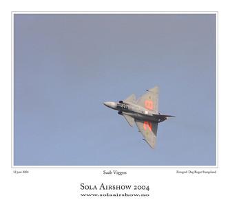 Saab Viggen. Photo Dag Roger Stangeland.