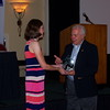Gene Towns, BOV Solutions, accepting Founders Award from Elena Badiuzzi, SATA President