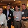 Matt Morris, ITW CCE; Alan Pedisich, Fiber-Shield Industries; Doug Fratz, CSPA; Kevin Murphy, Aptar Beauty + Home