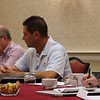 Board Members hard at work<br /> Dr. Larry Beaver, Pierce Pillon, Jack Finnell, Ed Freesmeier, Eric Dann