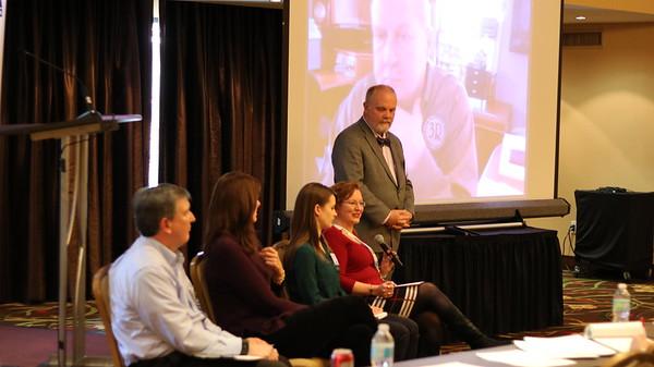 Steve Dupont, Nexeo Solutions; Kristin Power, CSPA; Mae Hrycak, Nexreg Compliance; Lori Parker, Arylessence Inc., Doug Raymond, 3R