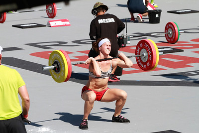 CROSSFIT GAMES 2012 SAT CLEAN LADDER