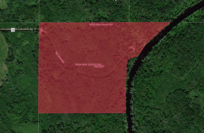 Whiteface River MN Power Allete 41 acres