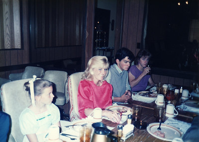 Laura, Lisa, Joe, Missy 1985