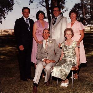 G & G Saylor's 50th Anniversary: Lowell, Donna, Eldon, Mom