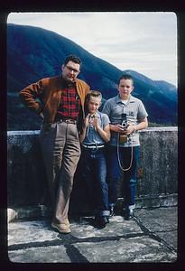 Eldon, Bill, Steve, Japan 1959