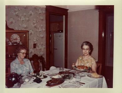 Gma Saylor, Aunt Nelma Christmas 1967, Ranch