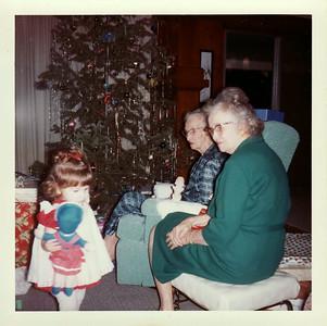 Lisa, Gma Saylor Christmas 1964, Ranch