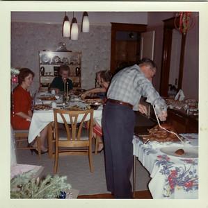 Mom, Gma Saylor, Gpa Saylor Christmas 1964, Ranch