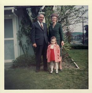 Gpa Saylor, Gma Saylor February 1967