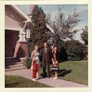 Lisa, Gma Saylor, Gpa Saylor, Gma Saylor October 1966, Ranch