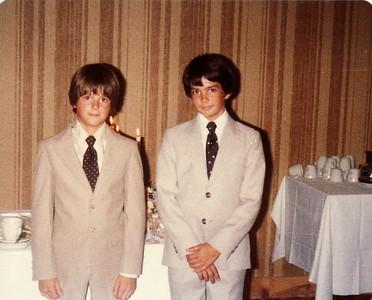 Lowel & Margaret wedding, Joe, Scott