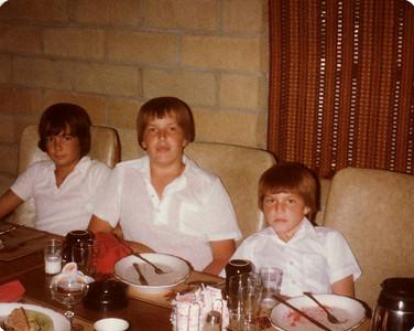 Joe, Steven, David