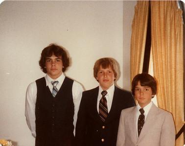 Andy, Steven, Joe 1980