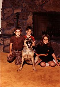 Andy, Joe, Margaret 1974