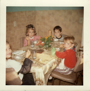 Lisa, Margaret, Andy, Steven August 1971