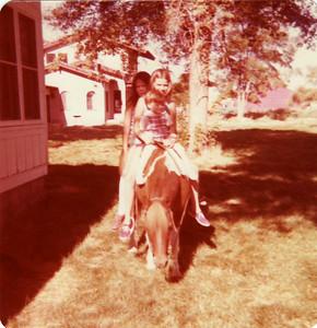 At the Ranch, Lisa, Margaret Joy, David