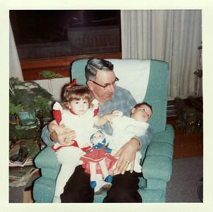 Gpa Saylor, Lisa, Margaret Christmas 1964