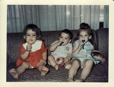 Margaret, Andy, Lisa Summer 1966