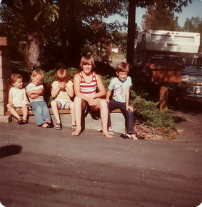 Laura, Mark, David, Steven, Matthew July 1978