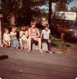 Laura, Mark, David, Steven, Matthew July 1978