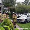 Sayville car into house