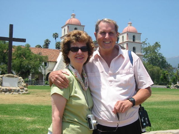 Visiting Mission Santa Barbara
