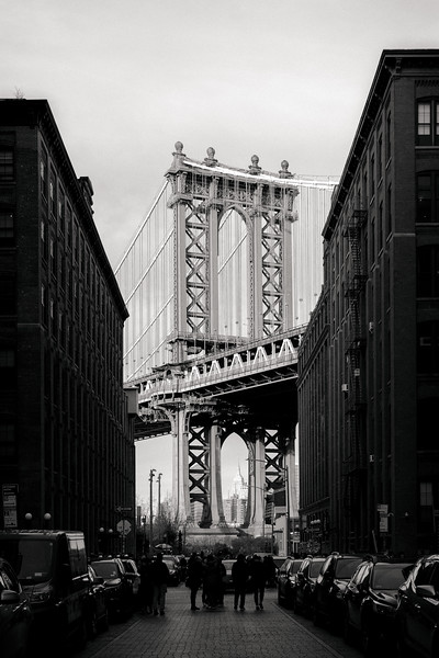 Manhattan Bridge Black & White