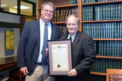 Justice Jeffrey P. Victory Retirement Reception