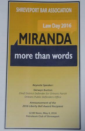SBA Law Day Luncheon 2016