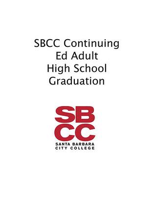 SBCC Adult High School Graduation 2013