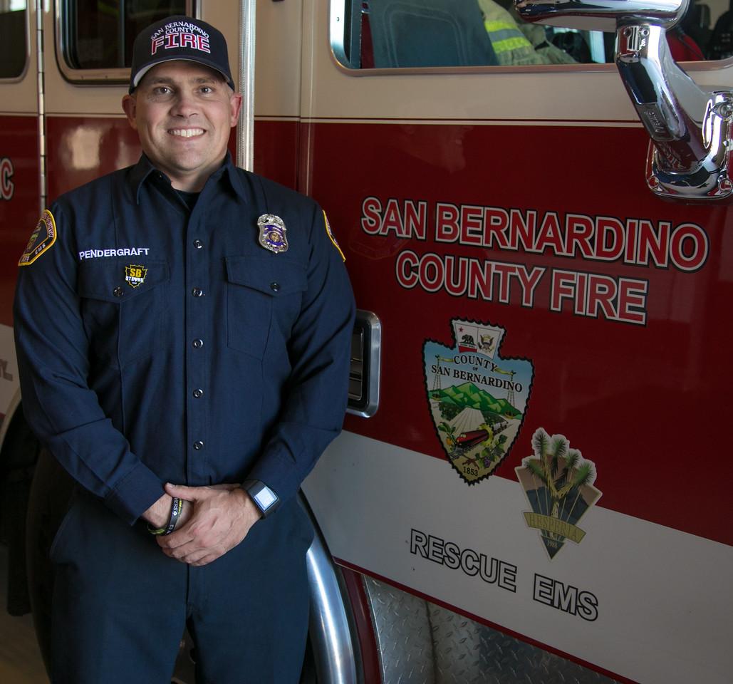 Firefighter Pendergraft. 03-09-17