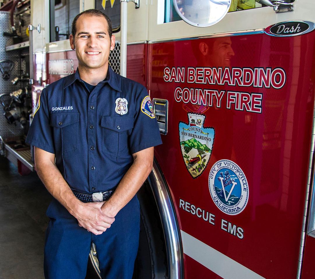Firefighter Gonzales