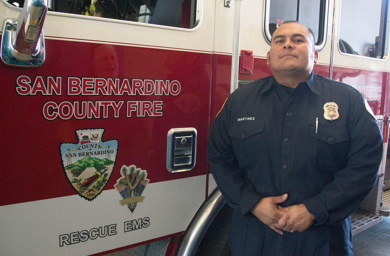 Firefighter Martinez