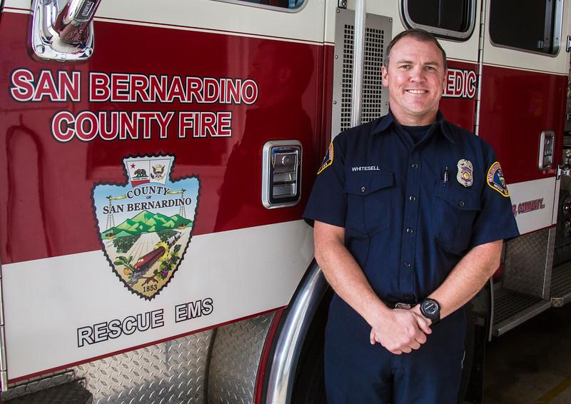 Firefighter Whitesell