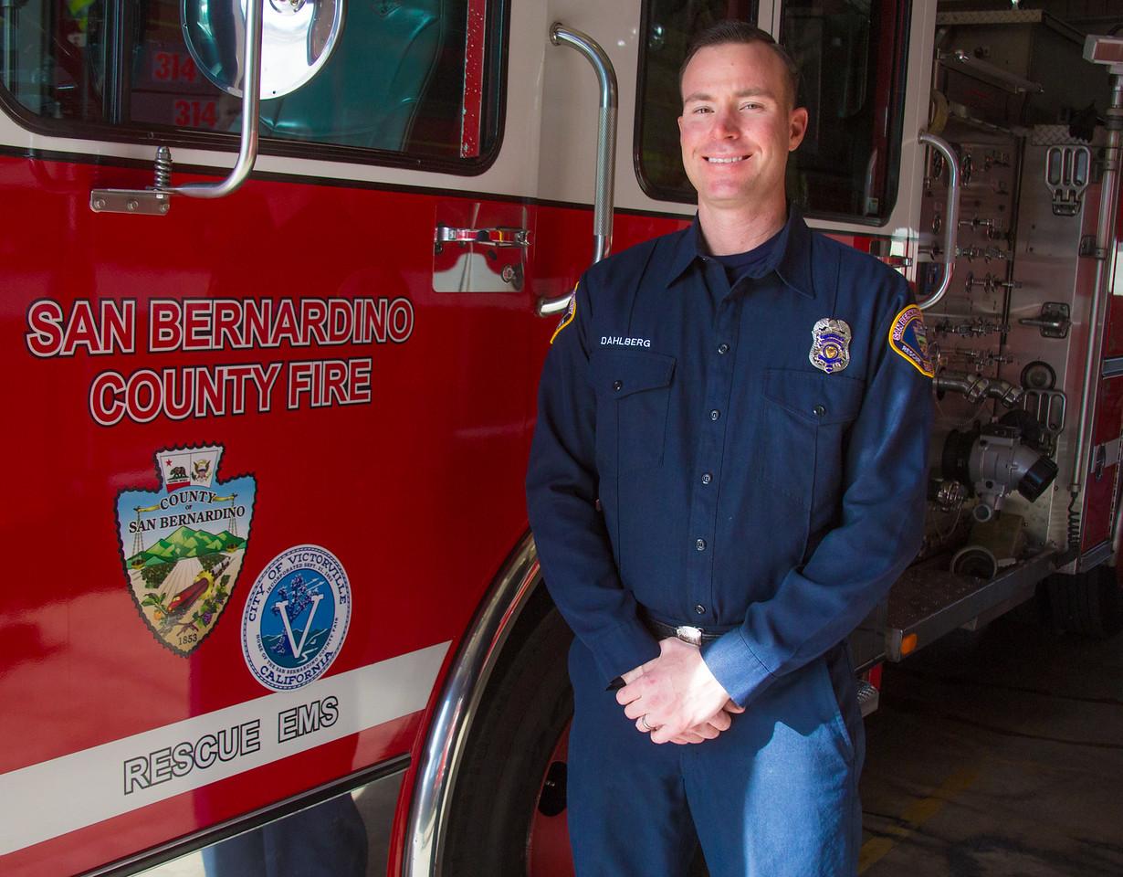 Firefighter Dahlberg